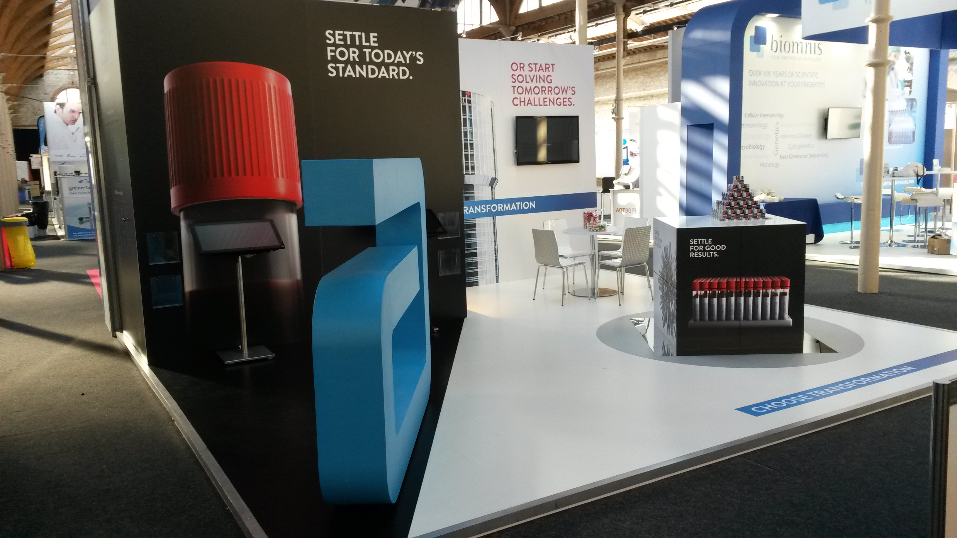 Exhibition Stand Builders Dublin : Model and scenic solutions exhibition stand contractors